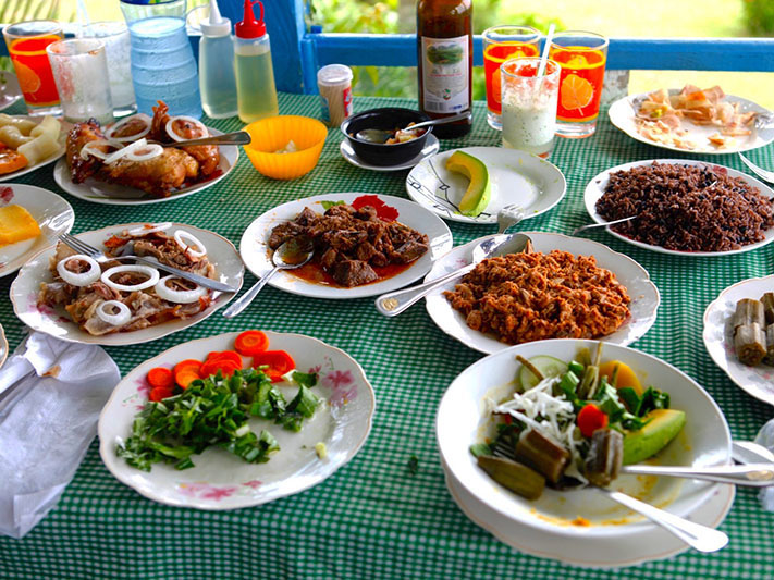 What is real Cuban food?